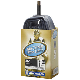 Michelin C4 Aircomp Camera d'aria Ultralight 26 pollici nero